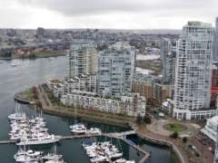 Immaculate Water View 1 Bedroom & Den at QuayWest I on Marinaside!