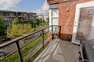 Southern Exposure 1 Bedroom & Den at The Carlings in Kitsilano!