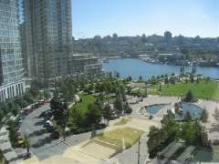 1002 1495 Richards Street | Azura II | 2-Bedroom + Den |False Creek water & park views | Beach Cresent | Vancouver West
