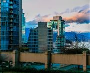 View of Coal Harbour & North Shore Mountains