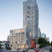 New mixed-use hotel/condo development coming soon to Robson & Beatty.