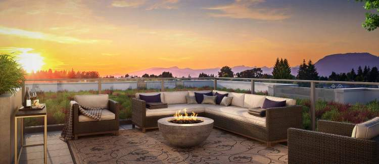 Select penthouses will have private rooftop decks with expansive views to the North Shore mountains.