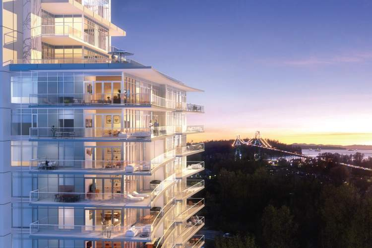 The Sentinel offers an unrecognized West Vancouver with views as yet imagined.