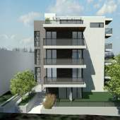 Architectural rendering of 1021 Burnaby Street presale Vancouver luxury condos.
