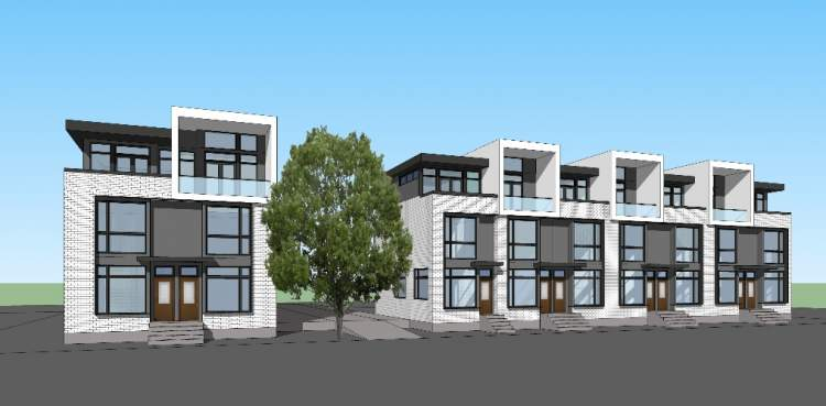 External rendering of Willow, designed by Yamamoto Architecture.
