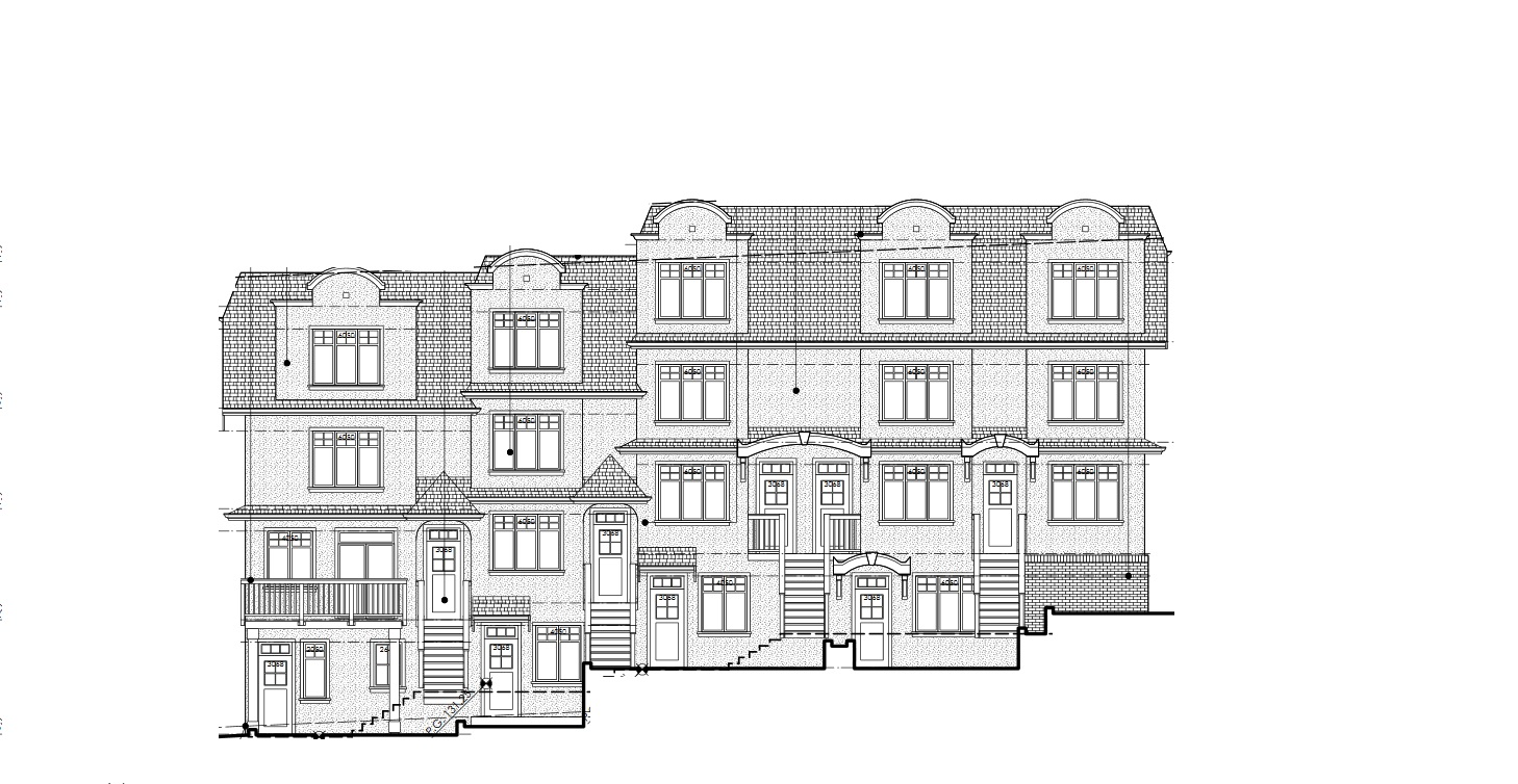Yukon Residences architectural elevation.