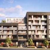 Marpole presale condos at Southwest Marine Drive and Oak Street.