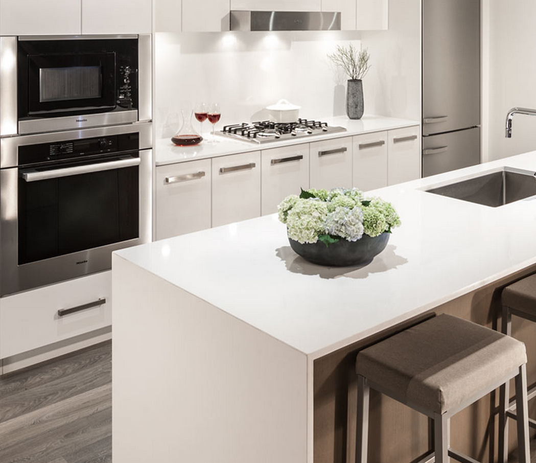 Aperture Vancouver Presale Condos Kitchen Rendering Mike Stewart