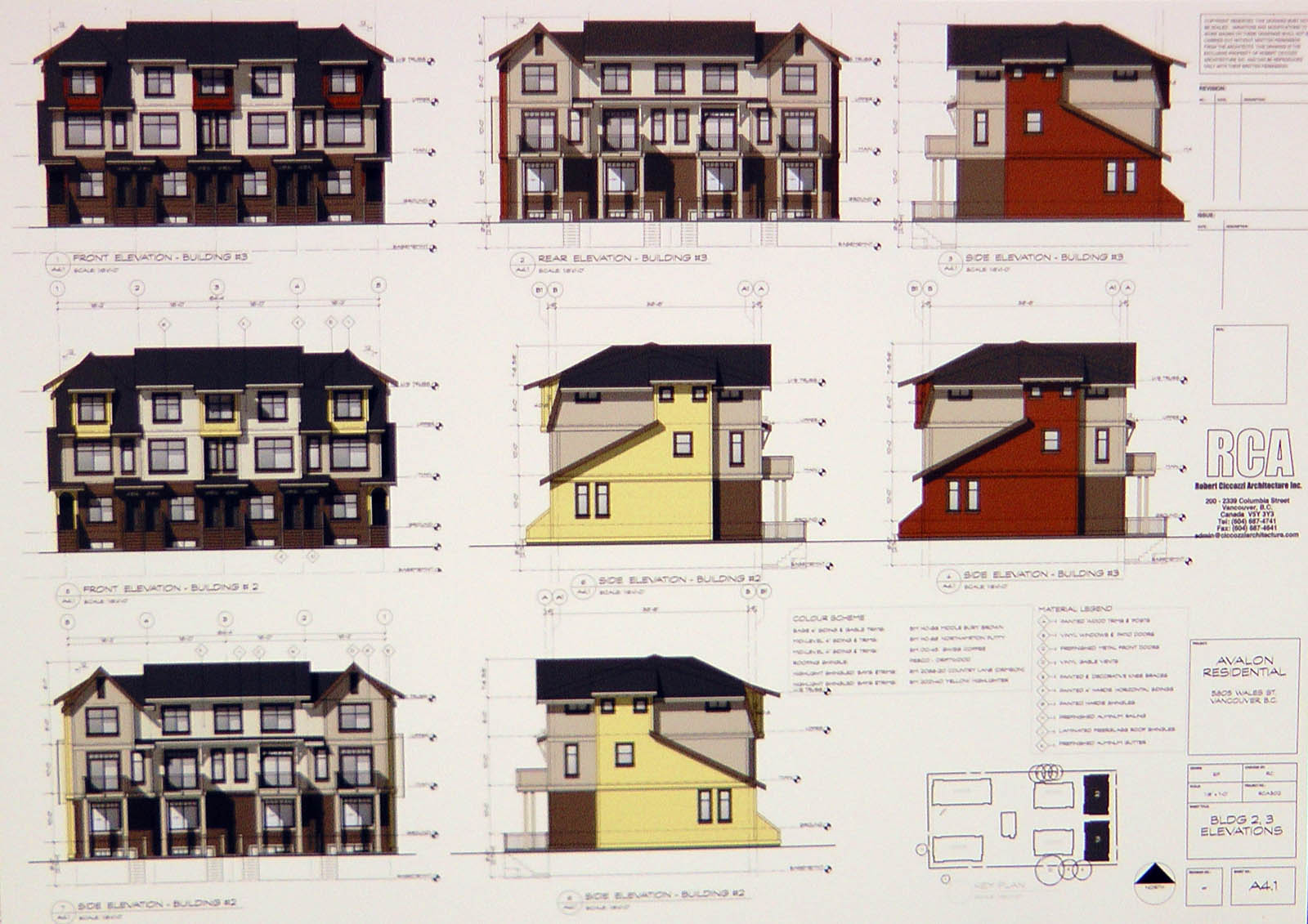 Avalon Mews Renderings Mike Stewart Vancouver Presales