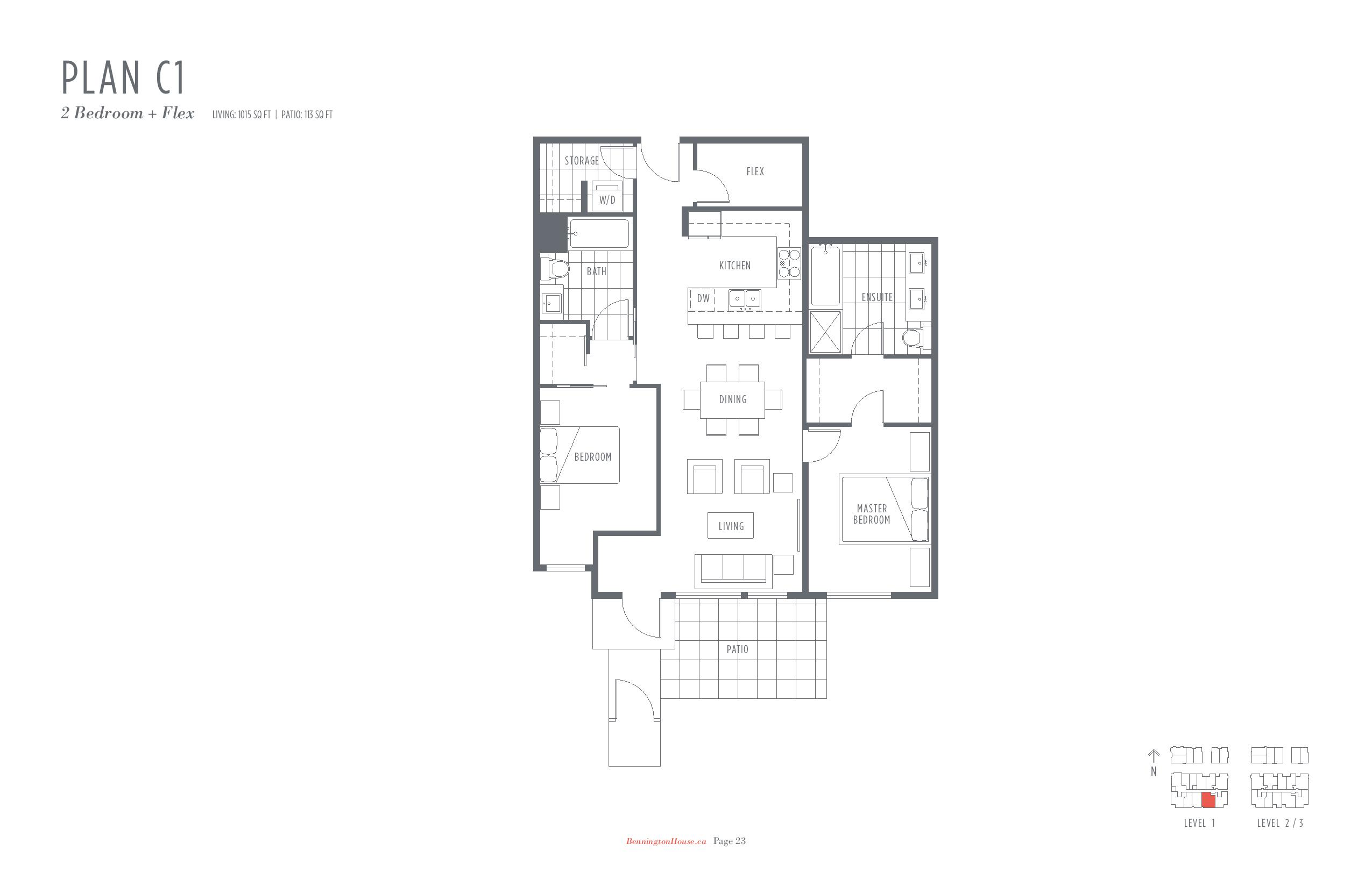 Bennington House Floor Plans Mike Stewart Vancouver Presale Condos-page-011