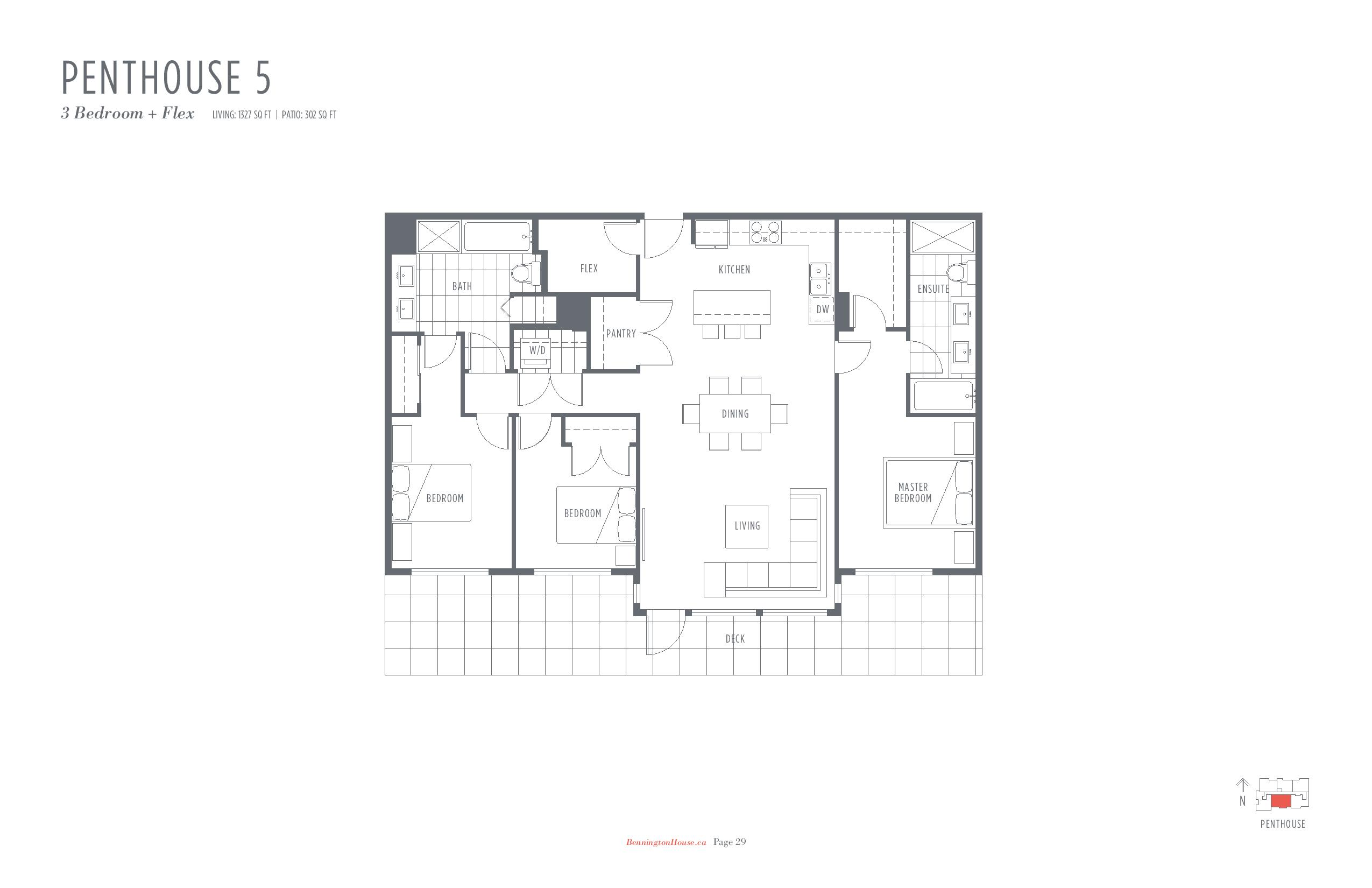 Bennington House Floor Plans Mike Stewart Vancouver Presale Condos-page-017
