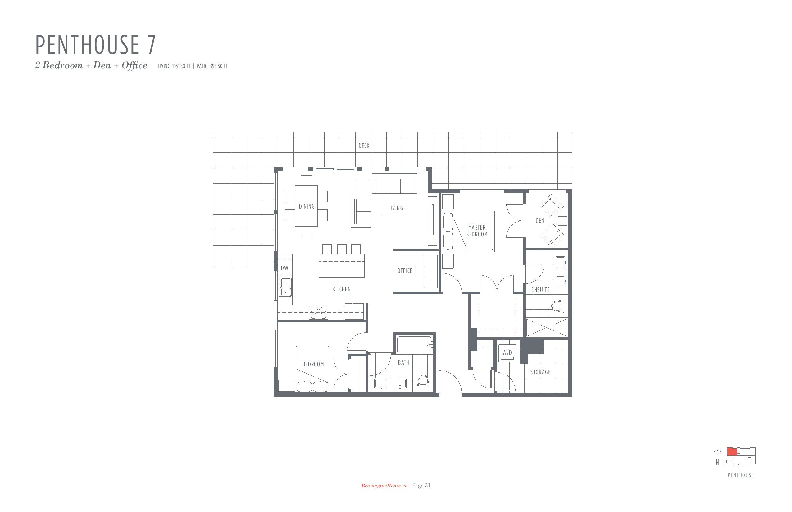 Bennington House Floor Plans Mike Stewart Vancouver Presale Condos-page-019