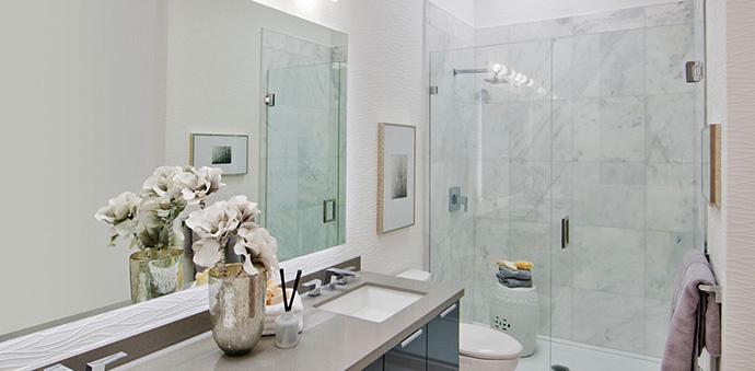 Boulevard Bathroom Rendering