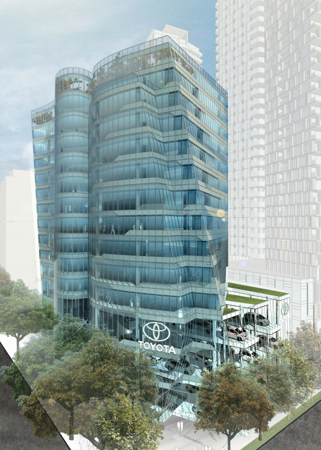 Burrard Gateway Commercial Rendering Mike Stewart Vancouver New Condos