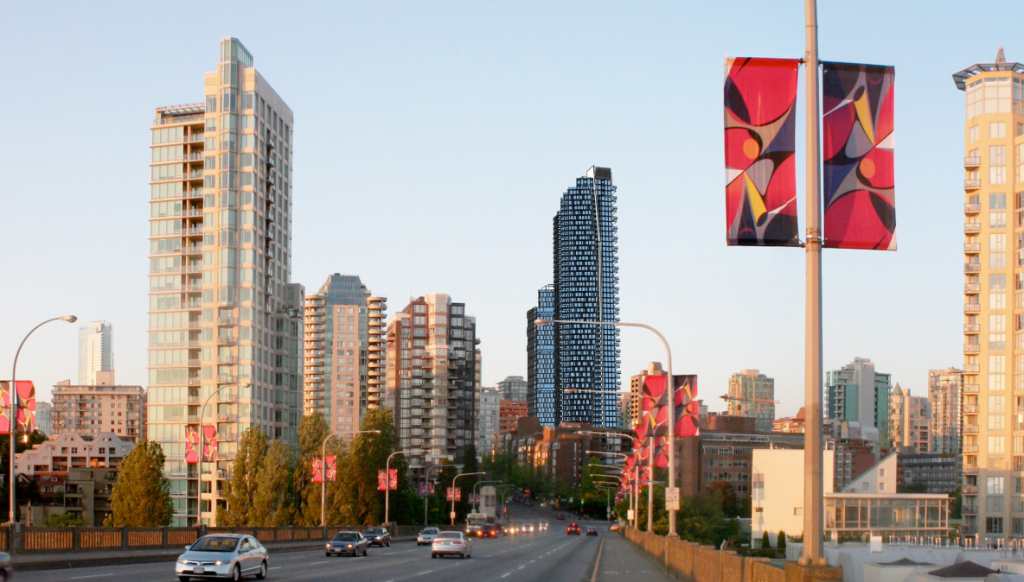 Burrard Gateway Size Skyline Rendering Mike Stewart Vancouver New Condos