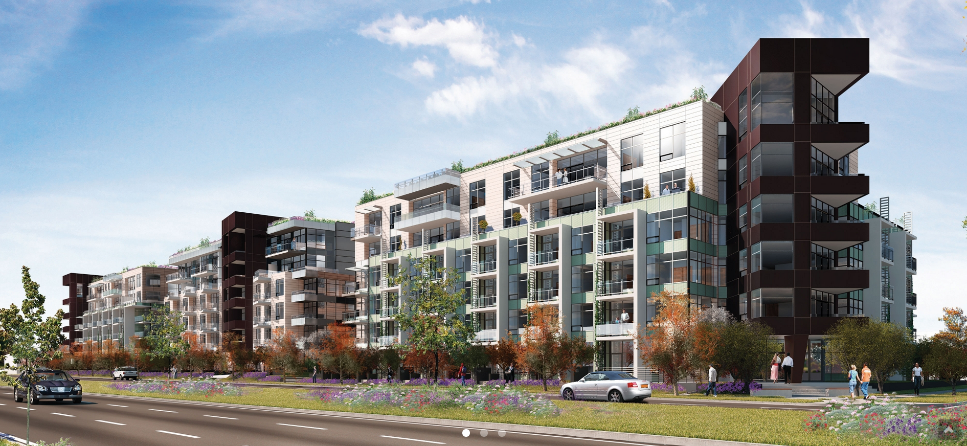 Cambie & 35th Exterior Rendering 2