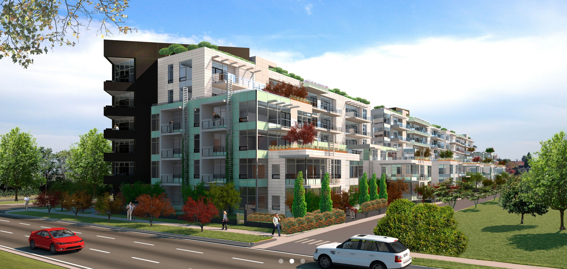Cambie & 35th Exterior Side Rendering