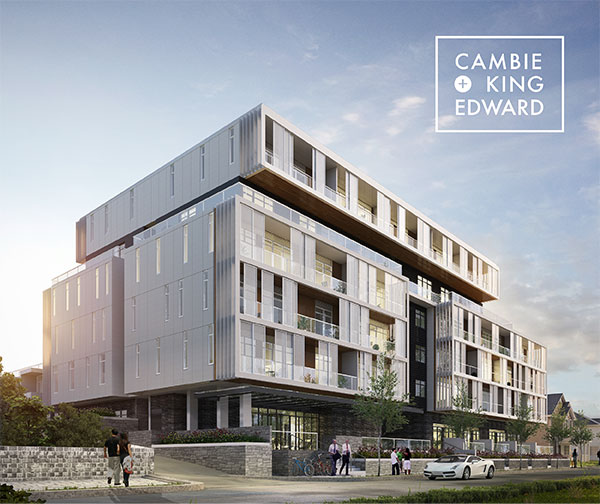 Cambie + King Edward – Exclusive Opportunity For 71 Prime Westside Pre-Construction Homes