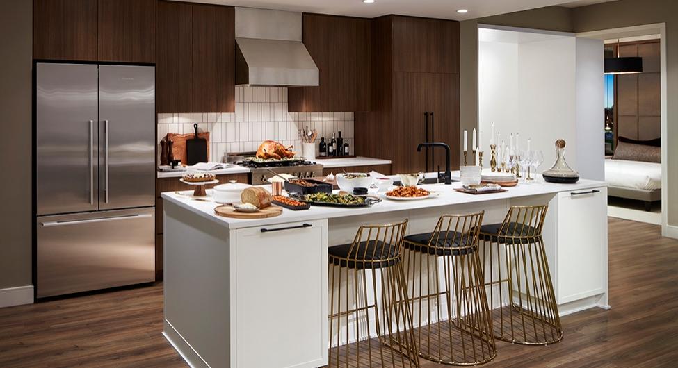 Cambria Park Kitchen.