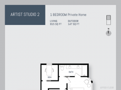 Eleven West artist studio floor plan 2.