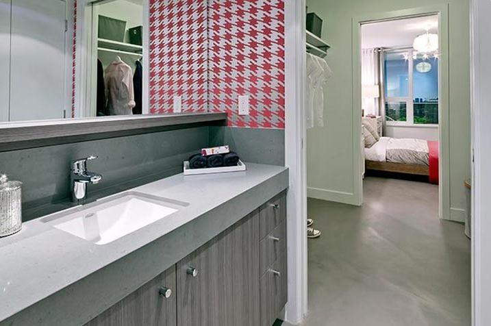 Framework Bathroom Mike Stewart Vancouver Presale Condos