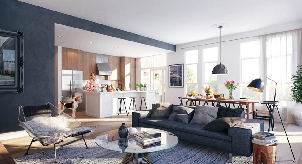 Cambria Park Living Room.
