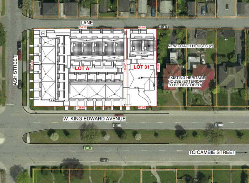 King Edward Green Site Plan 2