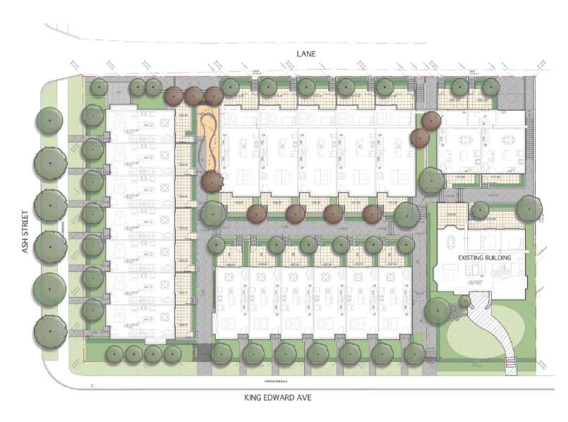 King Edward Green Site Plan
