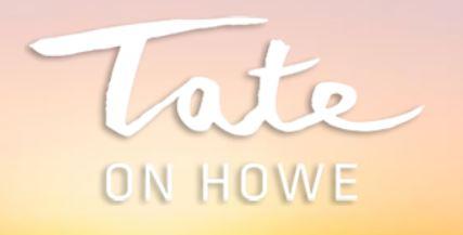 Logo Tate on Howe Mike Stewart