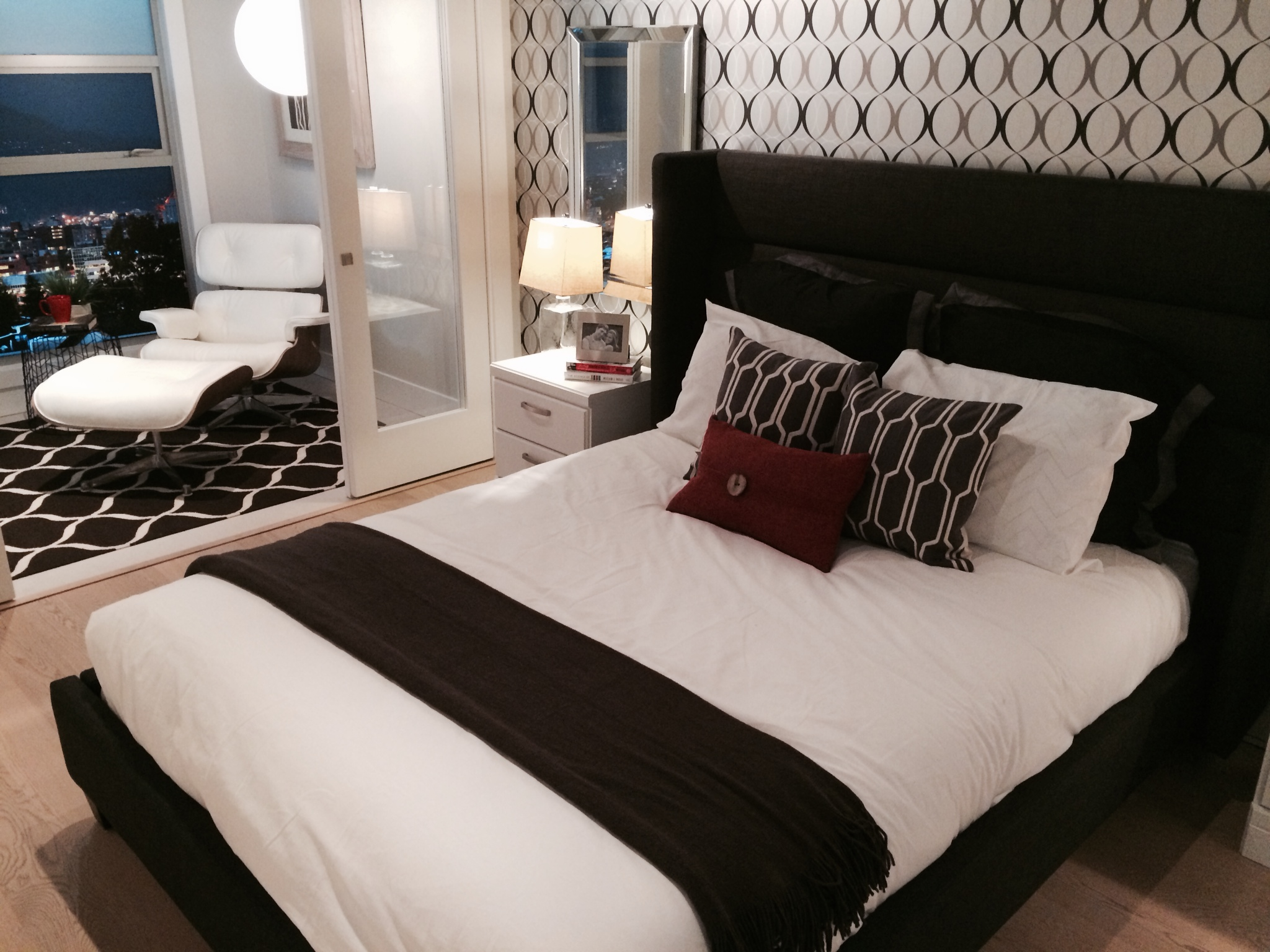 Midtown Vancouver Bedroom at Display Centre