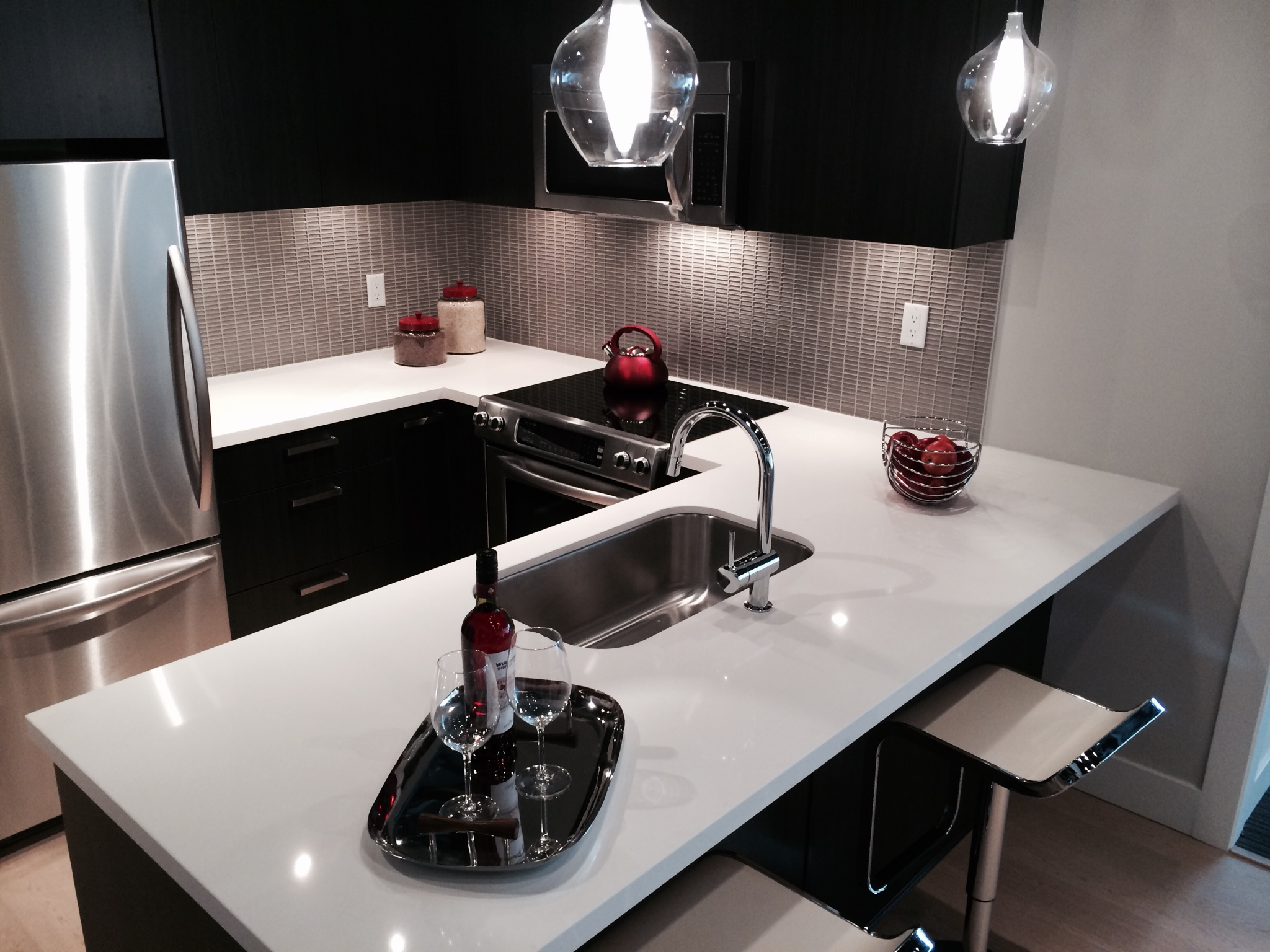 Midtown Vancouver Kitchen 3 at Display Centre