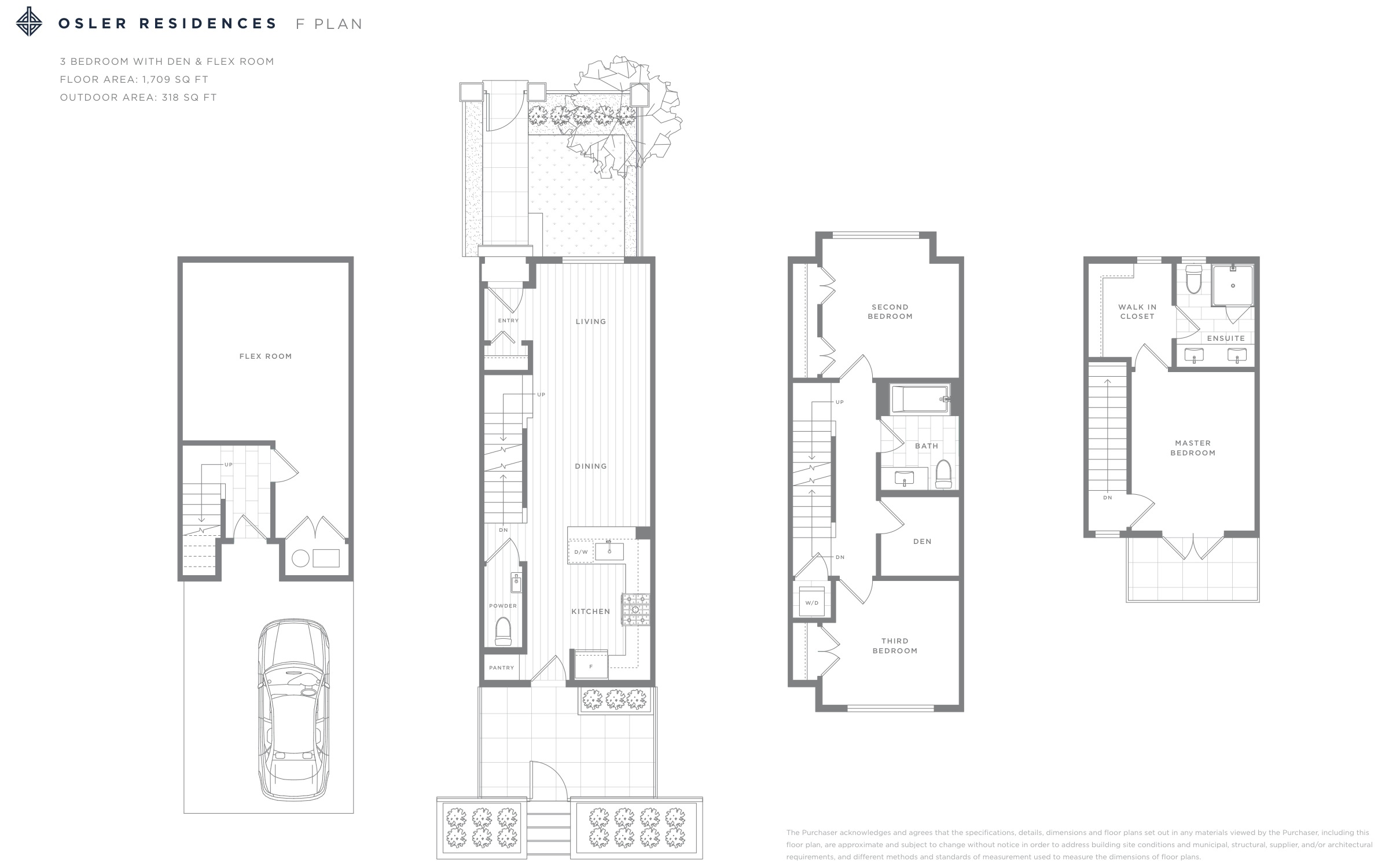 Osler Residences F Plan Floorplan