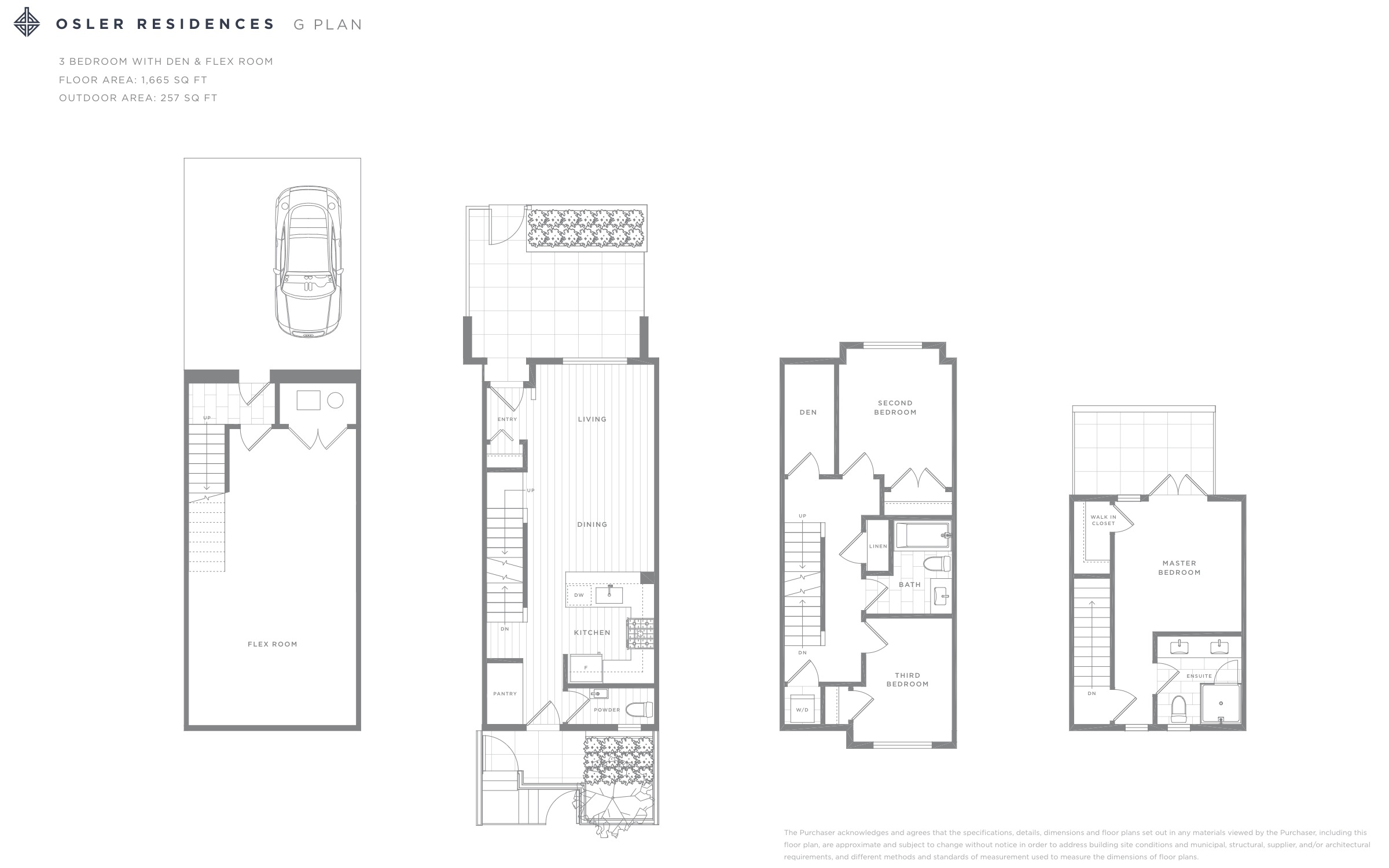 Osler Residences G Plan Floorplan