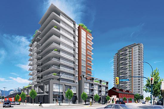 Proximity Vancouver Presales Mike Stewart Rendering