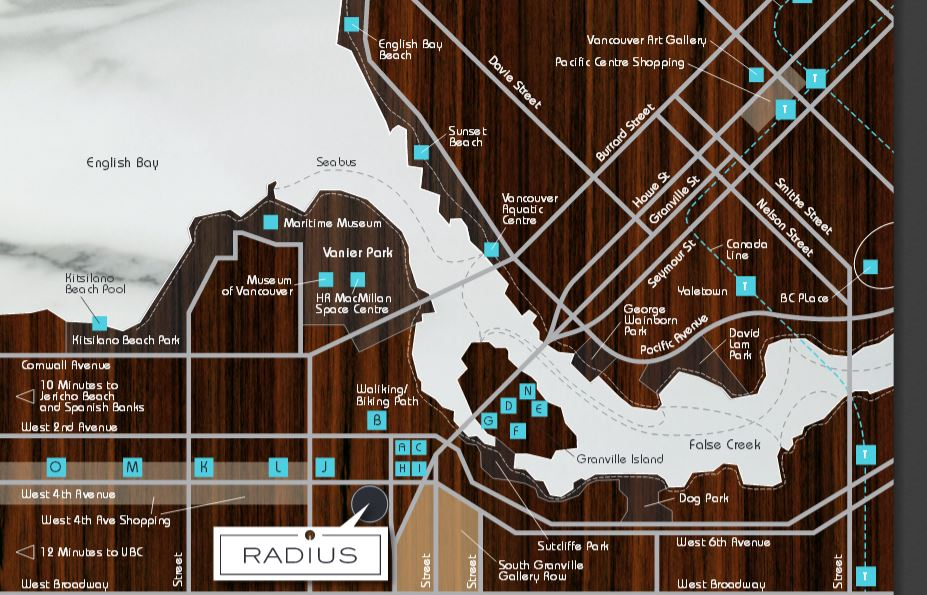 Radius Map Location Mike Stewart