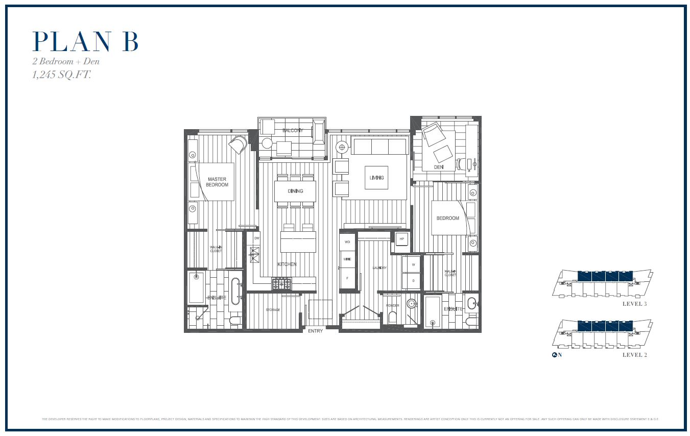 Sterling by Cressey Plan B Floor Plans