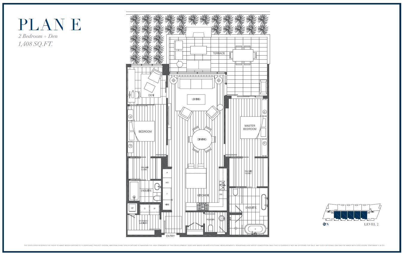 Sterling by Cressey Plan E Floor Plans