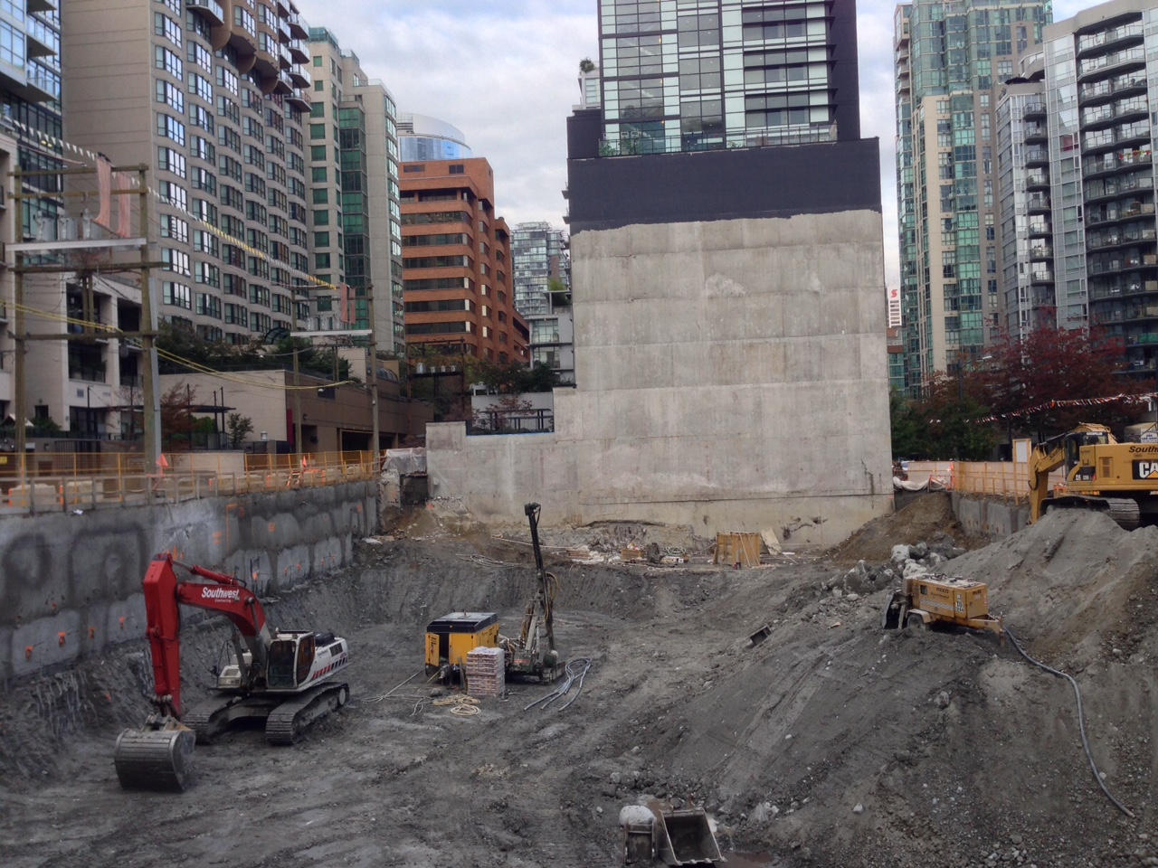 Tate on Howe Construction Progress Mike Stewart Vancouver Presale Realtor (2)