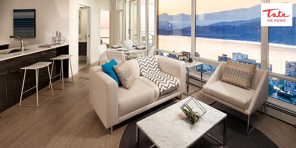 Tate on Howe Living Room Rendering Mike Stewart
