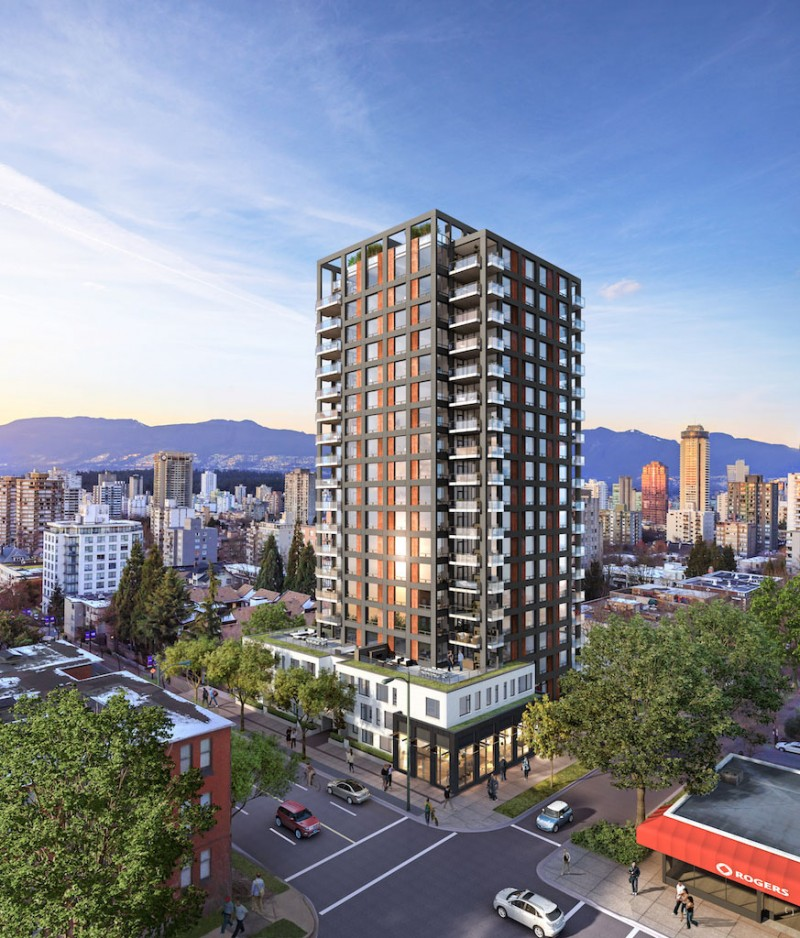The Jervis Vancouver By Intracorp In The West End With Views! – Floor Plans Available & Pricing To Come!