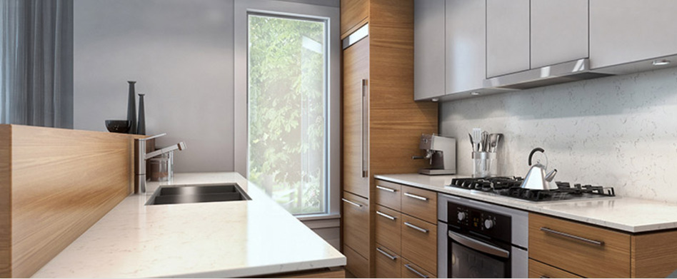 The Kerrisdale Gardens Interior Kitchen Rendering Mike Stewart