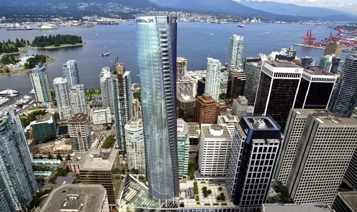 Trupm Tower Vancouver Rendering Coal Harbour Views Mike Stewart