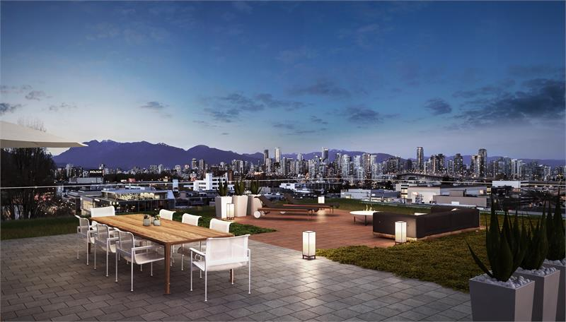 West Five Rooftop Rendering Mike Stewart Vancouver Presales