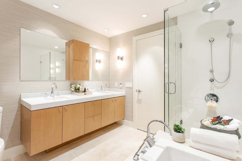 Evelyn On Forest's-Edge Three & Four bathroom concept design.