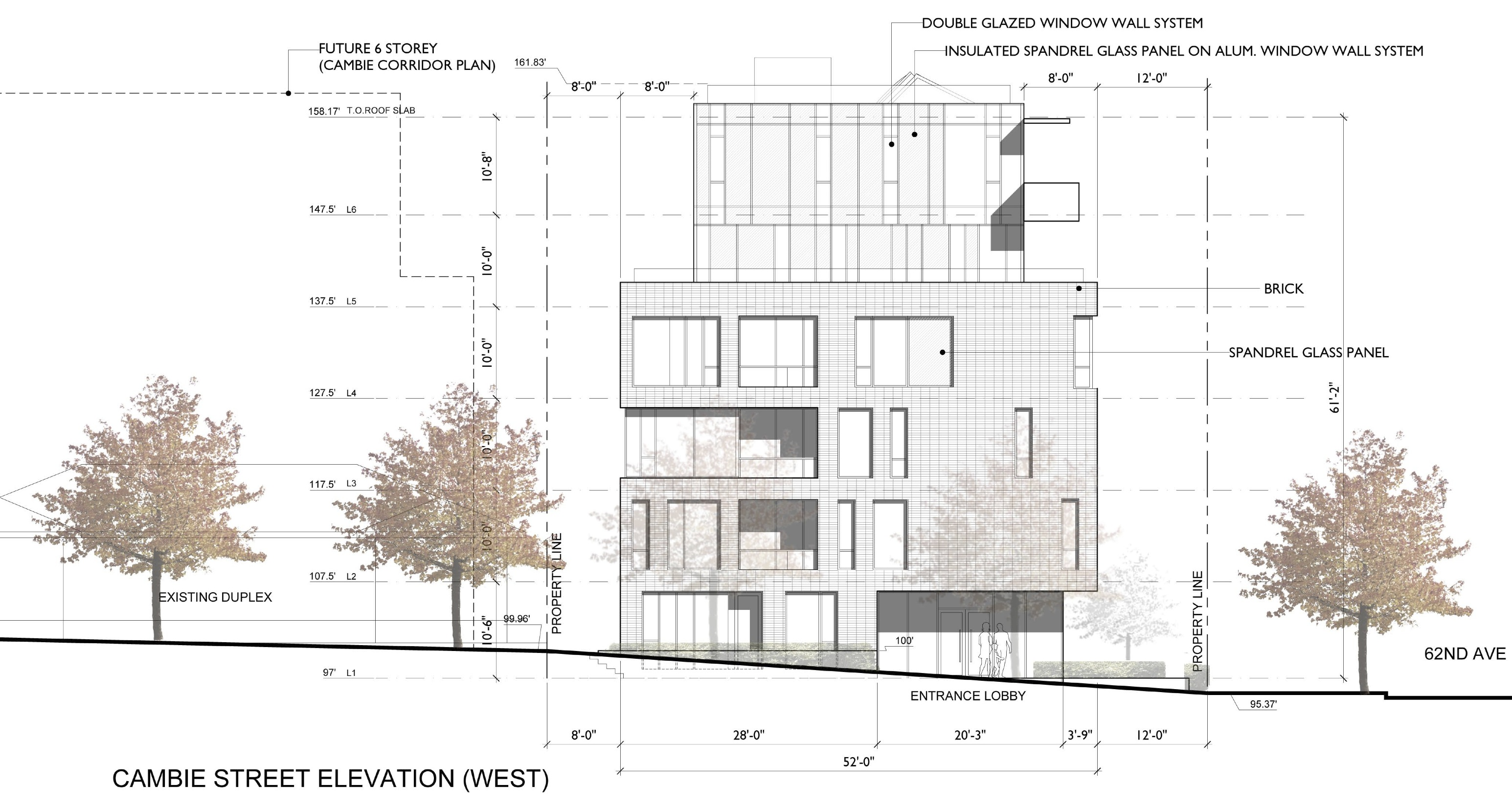 Cambie62 west elevation.