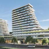 Cascade City Richmond Oval presale condos designed by Arno Matis.