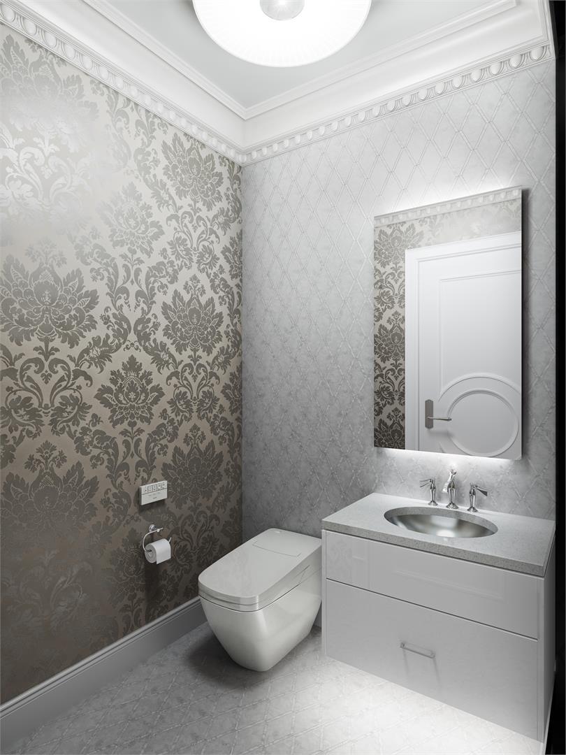 Chateau Laurier ensuite bathroom.