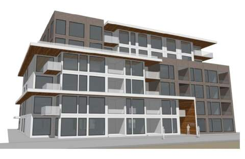 External Rendering Of Contessa By GBL Architects.