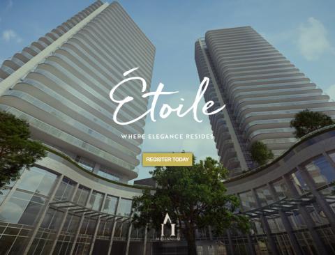 Étoile By Millennium Development Group & Chris Dikeakos Architects.