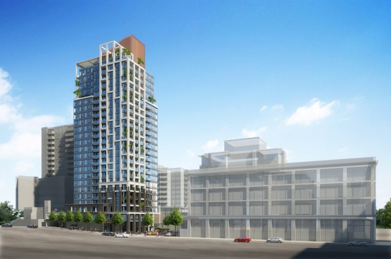 New Victoria luxury presale condo development by Townline Group.